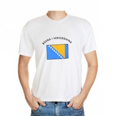 T-shirts van vlag bosnia en herzegovina