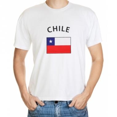 T-shirts van vlag chili