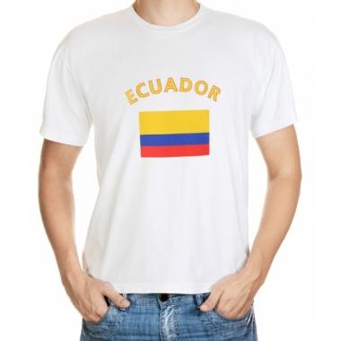 T-shirts van vlag ecuador