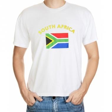 T-shirts van vlag zuid-afrika