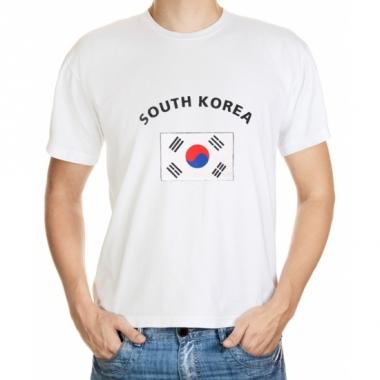 T-shirts van vlag zuid korea
