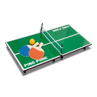 Tafel tennis spel kantoor variant