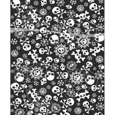 Tafelkleed met botten 180 cm