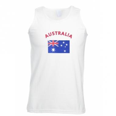 Tanktop met australie vlag print