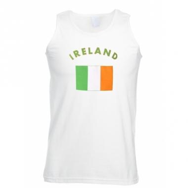 Tanktop met ierland vlag print