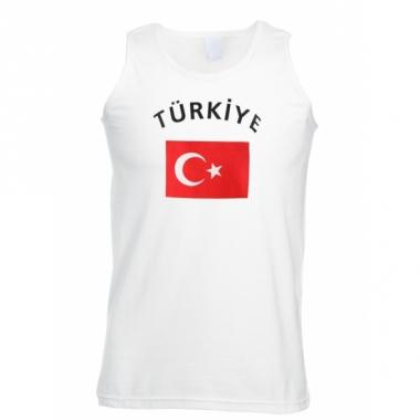 Tanktop met turkse vlag print