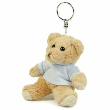 Teddybeer sleutelhanger