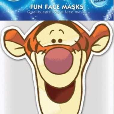 Teigetje masker van karton