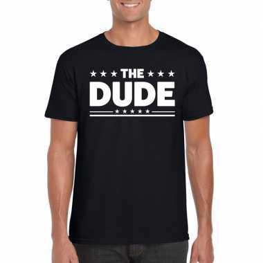 The dude heren t-shirt zwart