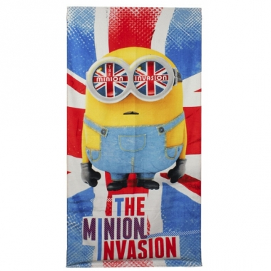 The minion invasion handdoek 70 x 140 cm