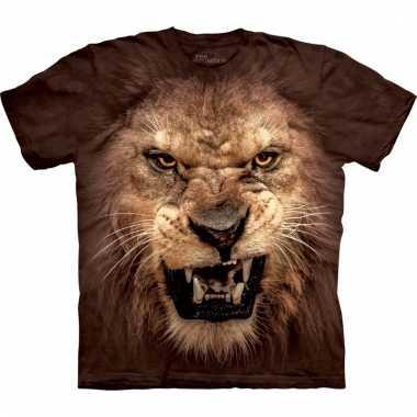 The mountain holland thema leeuwen t-shirt