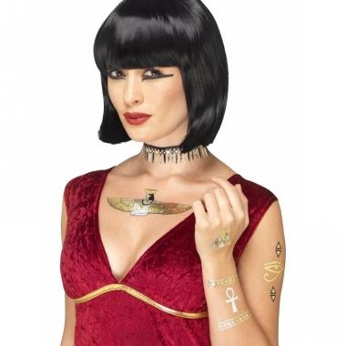 Tijdelijke tatoeages egytpe print 7 stuks