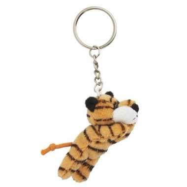 Tijger sleutels hangertje 6 cm