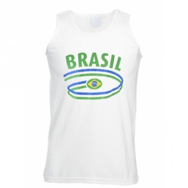 Top met braziliaanse opdruk voor heren