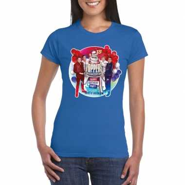 Toppers - blauw toppers in concert 2019 officieel t-shirt dames