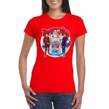 Toppers - rood toppers in concert 2019 officieel t-shirt dames