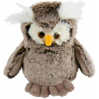 Uilen vogel knuffel 18 cm