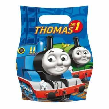 Uitdeelzakjes thomas de trein 6 x