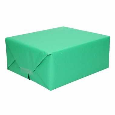 Uni kraftpapier donker groen 200 cm
