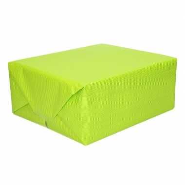 Uni kraftpapier lime groen 200 cm