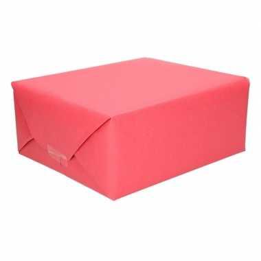 Uni kraftpapier rood 200 cm