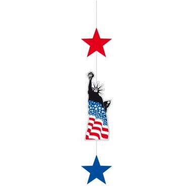 Usa hangdecoratie met sterren 105 cm