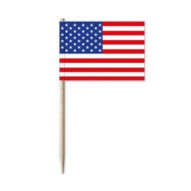 Usa vlaggen prikkertjes 50x