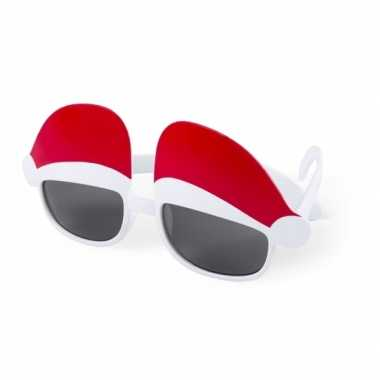 Uv zonnebril kerstmuts design