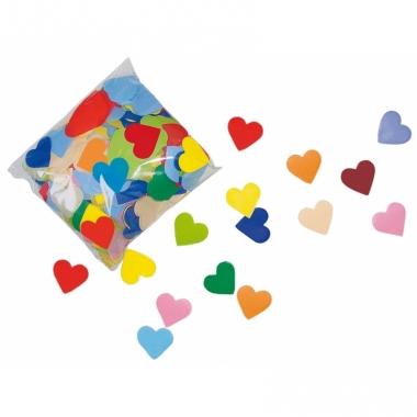 Valentijn confetti gekleurde hartjes