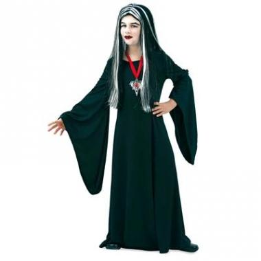 Vampieren jurk zwart voor kinderen