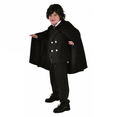 Vampieren kinder cape zwart