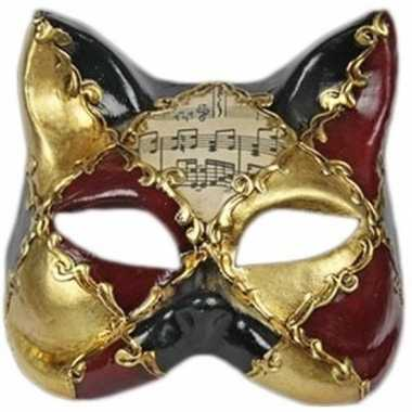 Venetiaanse maskers muziek kat