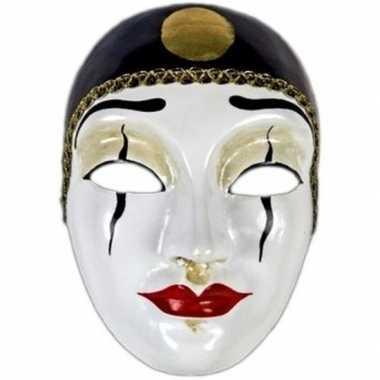 Venetiaanse maskers pierrot