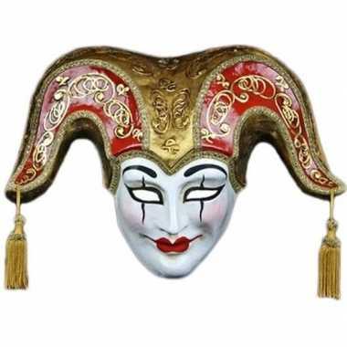 Venetiaanse maskers vrolijke joker