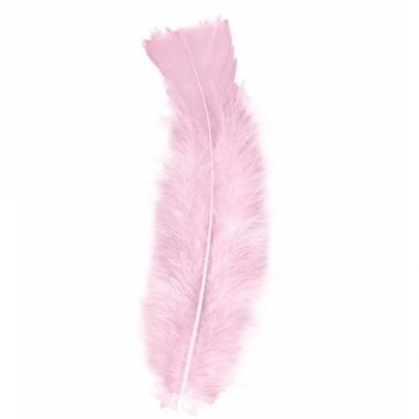 Veren licht roze 50 stuks