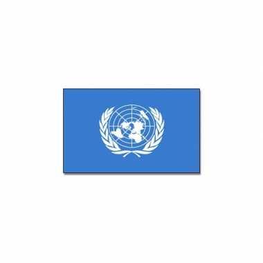 Verenigde naties vlag 90 x 150 cm