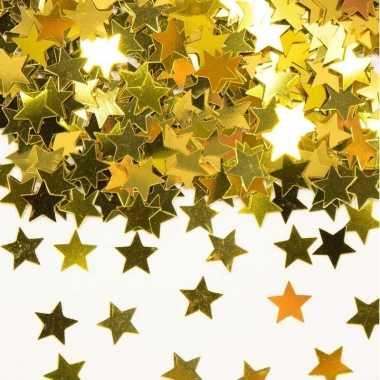 Vergulde confetti goud van 42 gram