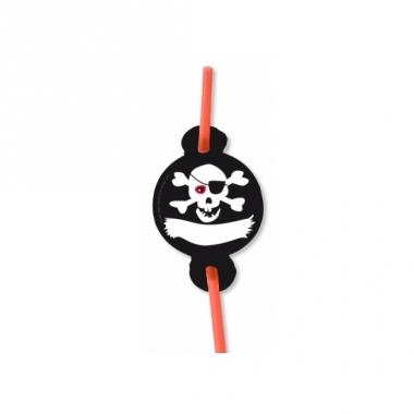 Verjaadags rietjes piraat 8x