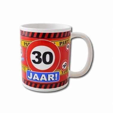 Verjaardag 30 jaar mok / beker 250 ml