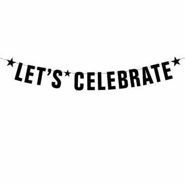 Verjaardag slinger lets celebrate