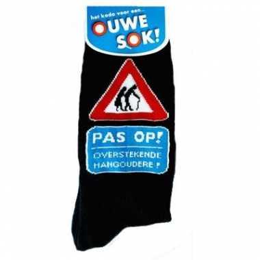 Verjaardag sokken hangoudere