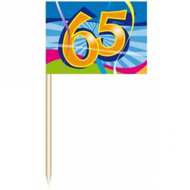 Verjaardags prikkers 65 jaar