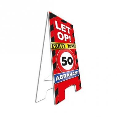 Verjaardagsbord abraham 50 jaar