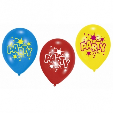 Verjaardagsfeest ballonnen party