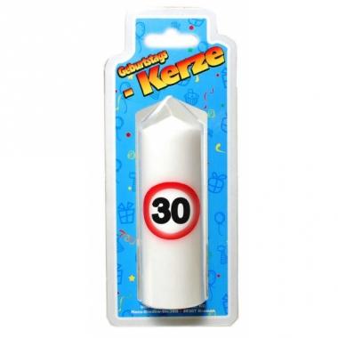 Verjaardagskaarsje 30 jaar