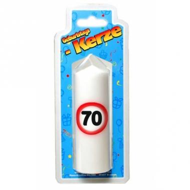 Verjaardagskaarsje 70 jaar