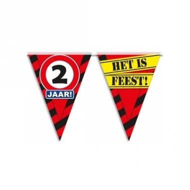 Verjaardagsvlaggetjes 2 jaar 10m