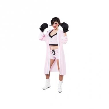 Verkleed bokser outfit voor dames