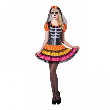 Verkleed day of the dead outfit rosita
