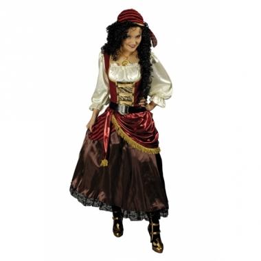Verkleed piratenjurk voor dames